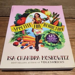Other - Appetite for Reduction Isa Moskowitz Cookbook Vg